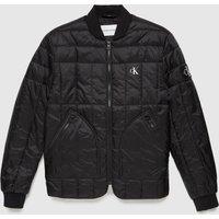 Mens Calvin Klein Jeans Quilted Liner Jacket - Black, Black