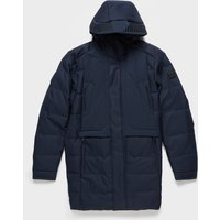 Mens BOSS Ontario Down Parka Jacket - Navy, Navy