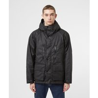 Mens Barbour International Afton Wax Jacket - Black, Black