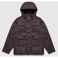 Mens Barbour International Afton Wax Jacket - Red, Burgundy