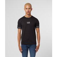 Mens Emporio Armani EA7 Tape T-Shirt - Exclusive - Black, Black