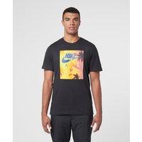 Mens Nike Swoosh by Air T-Shirt - Black, Black