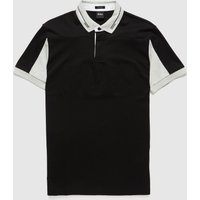 Mens BOSS Pavel Polo Shirt - Black, Black