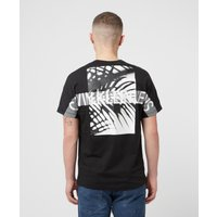 Mens Calvin Klein Jeans Palm Back T-Shirt - Black, Black