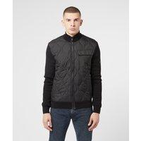 Mens Barbour International Slipstream Quilted Jacket - Black, Black