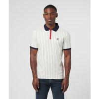 Mens Fila BB1 Polo Shirt - White, White