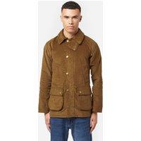 Mens Barbour International Cord Slim Bedale Jacket - Brown, Brown