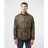 Barbour International Trajan Wax Jacket - Green, Green