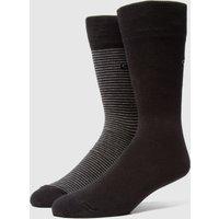 Calvin Klein 2-Pack Stripe Socks - Black, Black