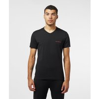 Emporio Armani 2-Pack Regular Short Sleeve T-Shirt - Black, Black