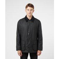 Barbour Ashby Wax Jacket - Black, Black