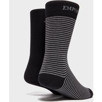 Emporio Armani 2-Pack Socks - Black, Black