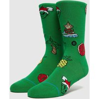 Stance Xmas Ornaments Socks, Verde