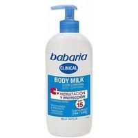CLINICAL SPF15 leche corporal hidratante   protectora 400 ml