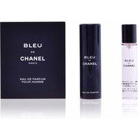 Chanel BLEU EDP vaporizador de viaje recargable 3 x 20 ml