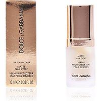 Dolce & Gabbana Makeup NAIL CARE matte nail coat