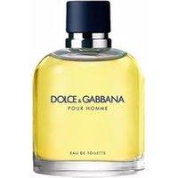 DOLCE & GABBANA POUR HOMME EDT vaporizador 75 ml