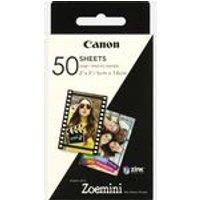 50 vel Canon ZINK™ 2x3 (5x7,6cm) fotopapier