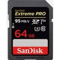 SanDisk Extreme PRO SDXC UHS-I C10 Memory Card, 64GB