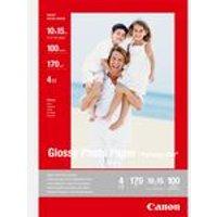 Canon GP-501 glänzendes Fotopapier 10x15 cm - 100 Blatt