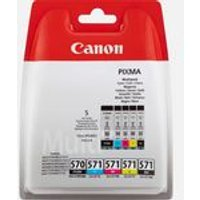 Canon PGI-570BK / CLI-571 BK/C/M/Y Ink Cartridge Multipack