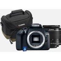 Canon EOS 1300D + 18-55mm IS II lens + 100EG bag + 8GB card