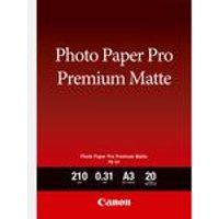 Canon PM-101 Premium Matte Photo Paper A3 - 20 Sheets