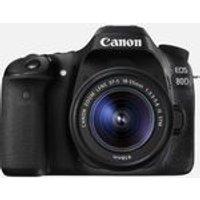 Canon EOS 80D + 18-55mm IS STM Lens