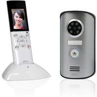 OTIO Visiophone (Portier vidéo) sans fil portatif écran LCD 2,3 pouces avec mémoire interne et à vision nocturne