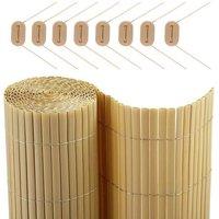 CATRAL Canisse en PVC DF - 0,9 x 3m - Beige sable