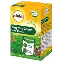 SOLABIOL - Engrais Gazon Anti-Mousse - Etui 3,2 Kg