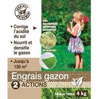NONA Engrais gazon 2 en 1 - 4 kg