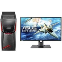 ASUS PC de Bureau G11CD-K-FR029D - i5-7400 - RAM 8Go - 256 Go 1 To - GTX1060 6Go + Ecran MG248QE - 24 - FHD - TN - 1ms - 144Hz