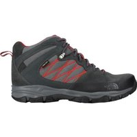The North Face - THE NORTH FACE Chaussure de randonnée Tempest mid GTX - Homme - Noir et rouge