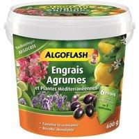 ALGOFLASH Engrais Algocote Agrumes et Plantes Méditerranéennes - 600g