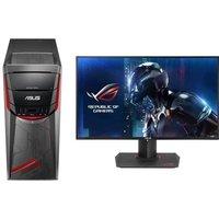 ASUS PC G11CD-K-FR152T - i7-7700 - 8Go - 256Go + 1To - GTX1080 + Ecran PG279Q - 27 - WQHD - IPS - 4 ms - 165 Hz - G-Sync