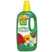 KB Engrais tout prêt géraniums et plantes fleuries - 1L