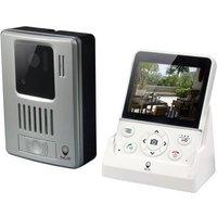 SCS SENTINEL Visiophone sans fil mains libres écran LCD 3,5 pouces WDP-100
