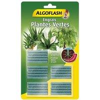 ALGOFLASH Engrais Bâtonnets Plantes vertes - 25 bâtonnets