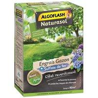 ALGOFLASH NATURASOL Engrais Gazon + Sulfate de fer - 3,2kg