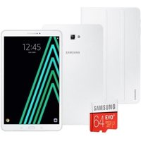 Pack SAMSUNG Galaxy Tab A6 SM-T580NZWAXEF - 10,1 WUXGA - RAM 2Go - Android 6.0 - Octo Core - ROM 16Go - WiFi + Cover + Micro SD