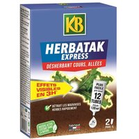 KB Désherbant Herbatak Express - 12 tubes pré-dosés