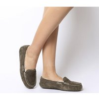 shop for UGG Ansley Slippers CHOCOLATE SUEDE at Shopo