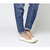 UGG Indah Slip On WHITE CANVAS