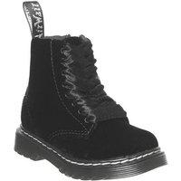 'Dr. Martens Lace Boot Inside Zip Brooklee (k) Black Velvet