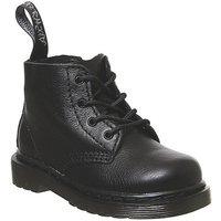 'Dr. Martens Lace Boot Inside Zip Brooklee (k) Black Virginia