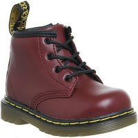 Dr. Martens Lace boots Inside Zip Brooklee (k) CHERRY RED LEATHER