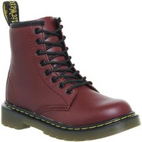 Dr. Martens Lace boots Inside Zip Delaney Jnr CHERRY RED LEATHER