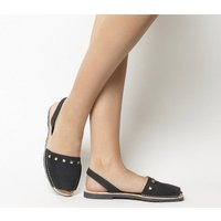 Solillas Sandal BLACK STUDS