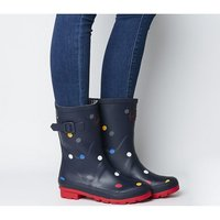 shop for Joules Molly Welly NAVY MULTI SPOT at Shopo